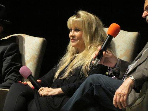 stevie nicks | Tumblr Stevie Nicks and Dave Stewart - Mill Valley Film Festival October 12, 2012 'In Your Dreams - Stevie Nicks' Documentary Screening… Arrival and Q
