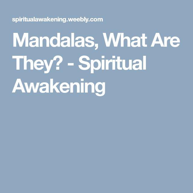 Mandalas, What Are They? - Spiritual Awakening