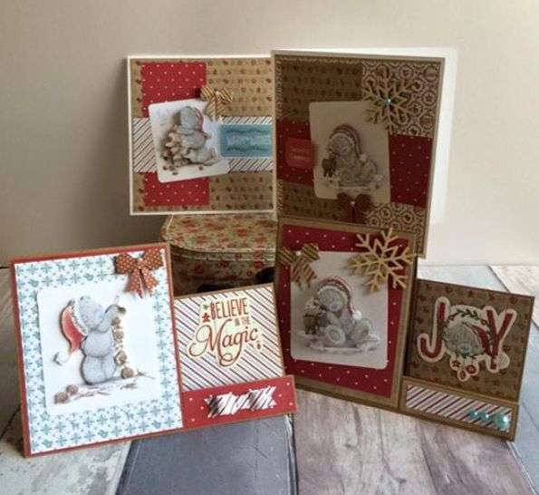 Trimcraft Me to You. Tatty Ted. Christmas