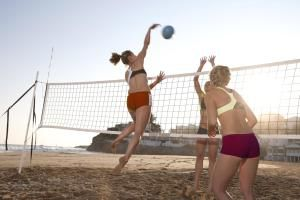 female volleyball players - Matt Henry Gunther/The Image Bank/Getty Images