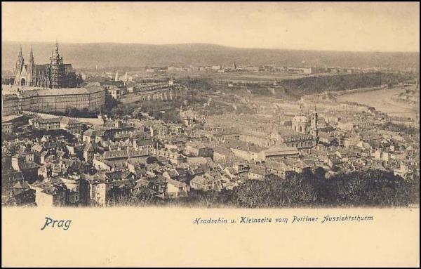 Praha - Malá Strana (1904)