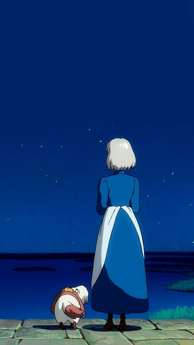 Howl's moving castle background