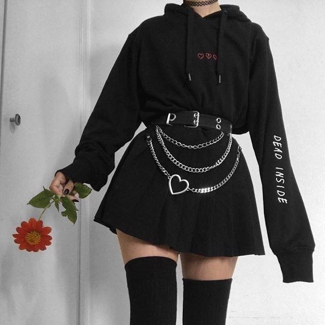 ok, weird question bUT, are your pets vindictive? Cause one of my dogs peed on one of my fave cardigans so I stopped letting them inside my… Egirl Fashion, Teen Fashion Outfits, Edgy Outfits, Retro Outfits, Grunge Outfits, Cute Casual Outfits, Grunge Fashion, Cute Fashion, Korean Fashion