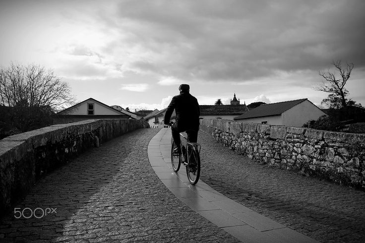 Riding my bicycle - Redinha, Portugal