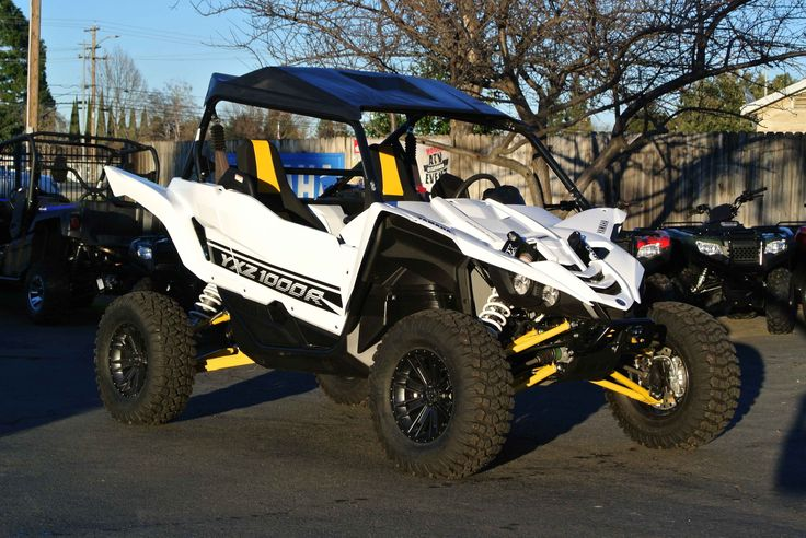 New 2016 Yamaha YXZ1000R SE ATVs For Sale in California. 2016 YAMAHA YXZ1000R SE, 2016 Yamaha YXZ1000R SE customized with all white plastics. The custom wheel and tire package are from MSA wheels and Arisun tires. This is the only all white Yamaha YXZ1000R that we know of! Hurry in to check it out!