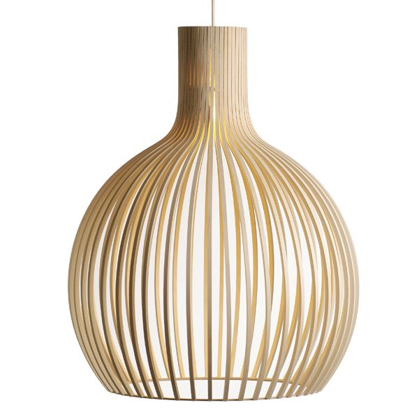 Octo 4240 lamp, birch