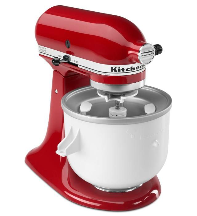 KitchenAid Stand Mixer Accessories You Didn't Know You Needed: KitchenAid Ice Cream Maker Attachment