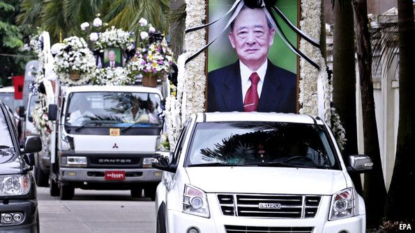 Lo Hsing Han, heroin king and business tycoon, died on July 6th, aged about 80