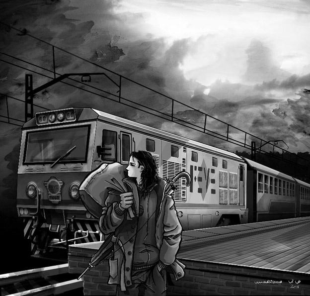 El tren.