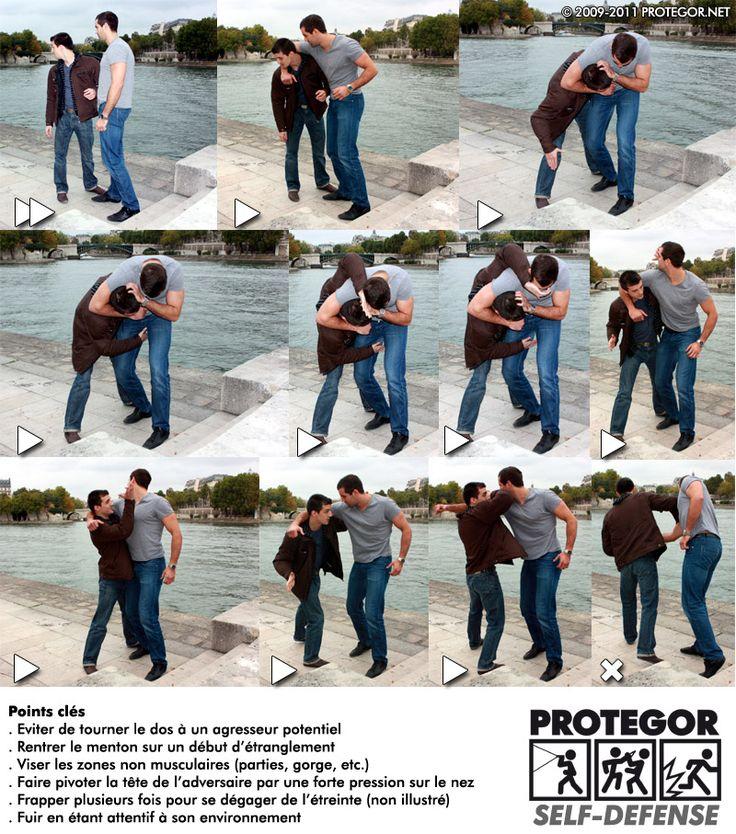 Self-défense illustrée (4) – PROTEGOR® sécurité personnelle, self ...