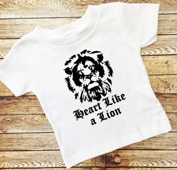 Heart Like a Lion Baby Clothes Baby Boy by LittleGrungeClothing
