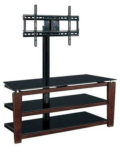 "Whalen Sydney 3-in-1 Flat Panel TV Stand Black 52"""