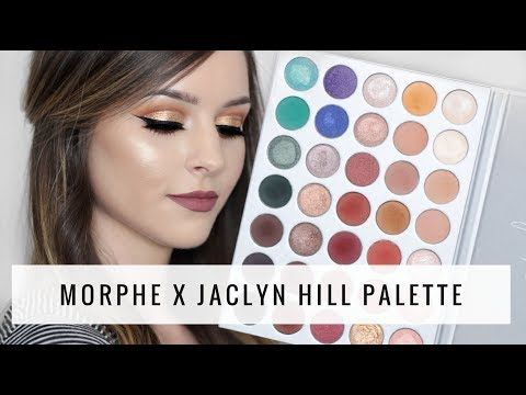 Jaclyn Hill x Morphe Palette | Review + Swatches + Tutorial - YouTube