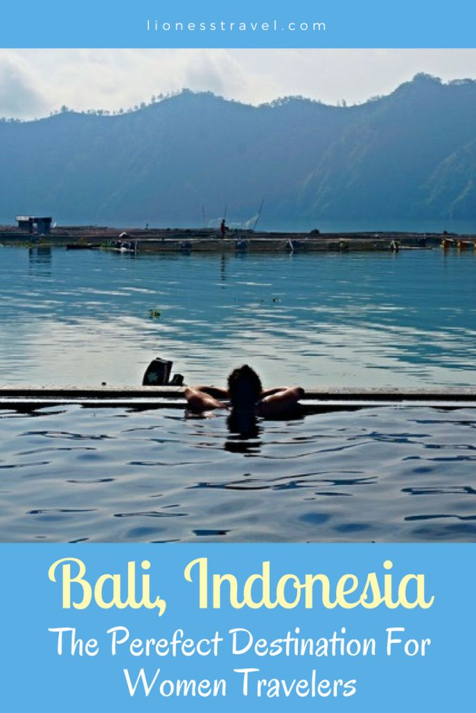 Why Bali Makes A Perfect Destination For Women Travelers