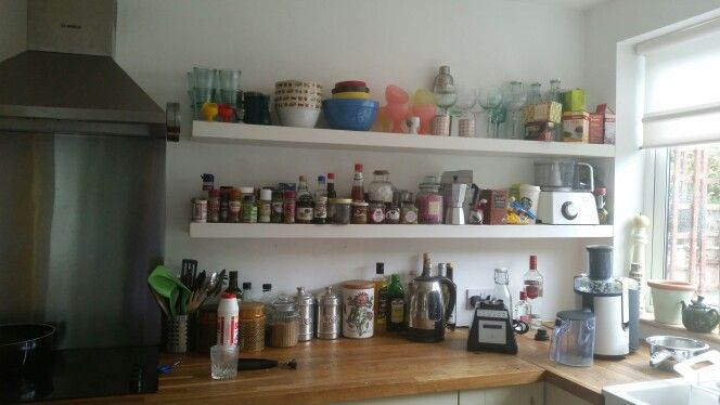 MY kitchen Shelves