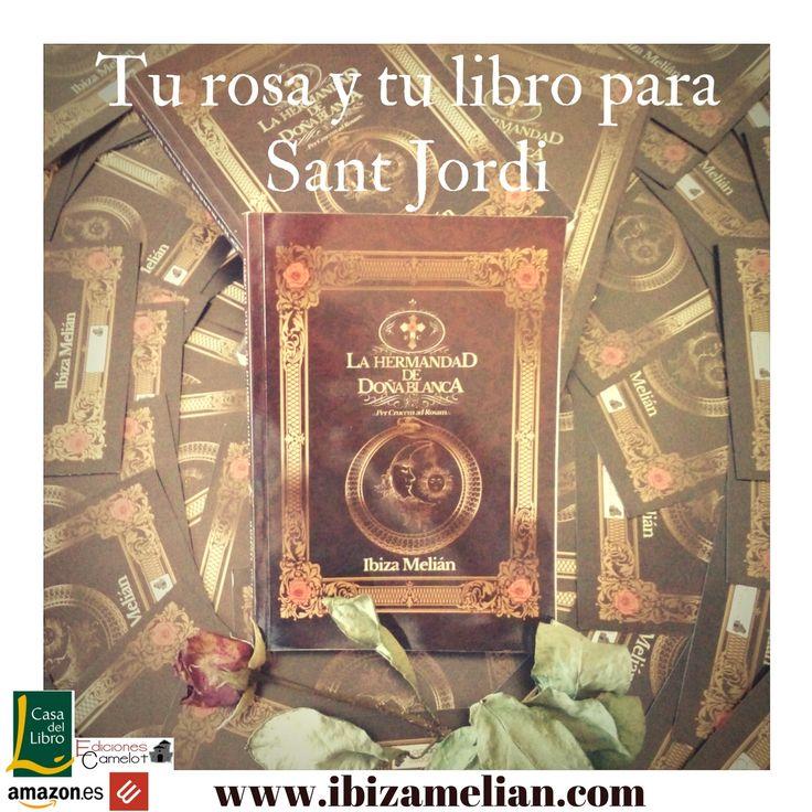 Tu rosa y tu libro para Sant Jordi | Ibiza Melián