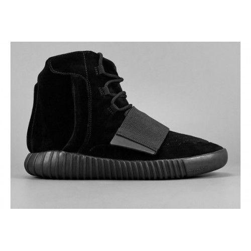 Nejlevnější Zimní Boty Adidas Dámské Yeezy Boost 750 Černáout - Černá/Černá-Černá - Adidas Obchod