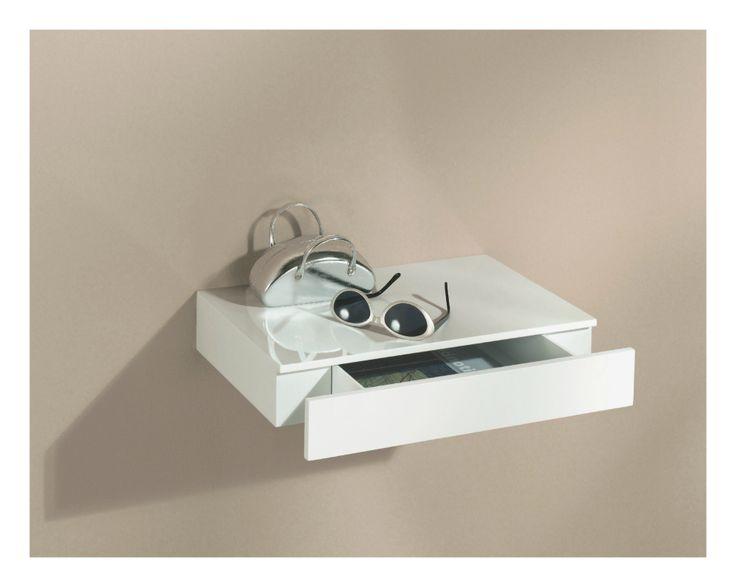 17 best ideas about floating shelf with drawer on. Black Bedroom Furniture Sets. Home Design Ideas