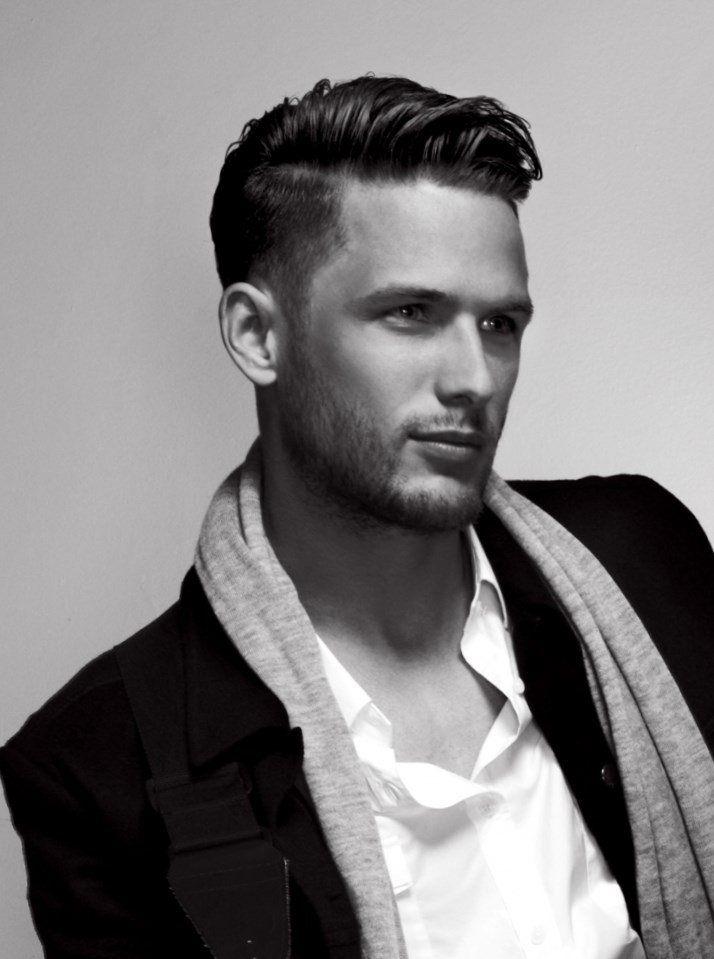 Model de coiffure homme cheveux court