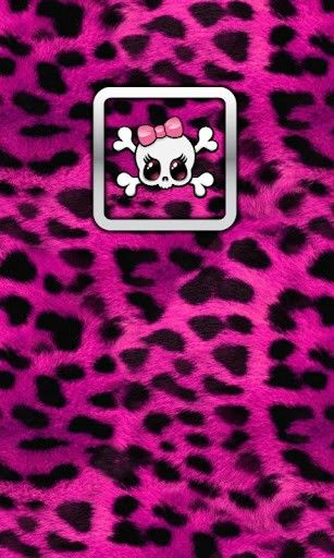 125 best girly skulls and bones wallpapers images on pinterest girly skull cheetah for fb 220317 0 s voltagebd Image collections