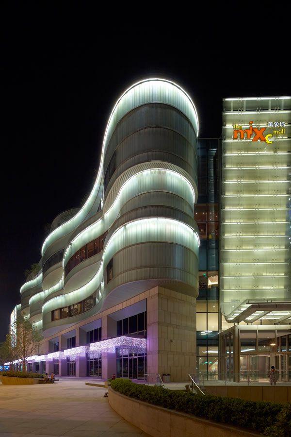 Front Elevation Lights : Mixc hangzhou china callison lighting