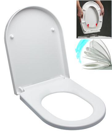 WC sedátko softclose Duroplast