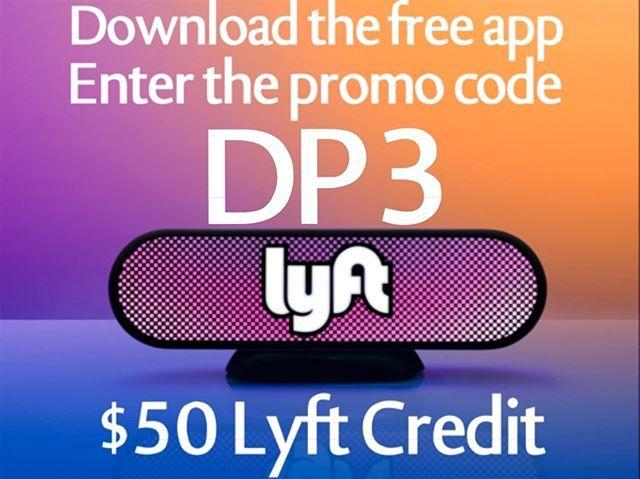 1.) Download the Lyft app from the App Store and get $50 credit. 2.) Enter code DP3 under the promo section 3.) Take a ride! #lyftfree #lyft #lyftpromocodes #lyftfreeride #lyftpromocode #lyftcoupon #lyftcodes #lyftride #lyftdiscount #lyftcode #lyftcouponcode #lyftdiscountcode #lyftcredit #FallRiver #ThousandOaks #Kauai #Abilene #Provo #Harrisburg #JerseyCity #LaJolla #Stockton #Greenwich #port #Macon #TysonsCorner #lajollalocals #sandiegoconnection #sdlocals - posted by Free lyft Rides…