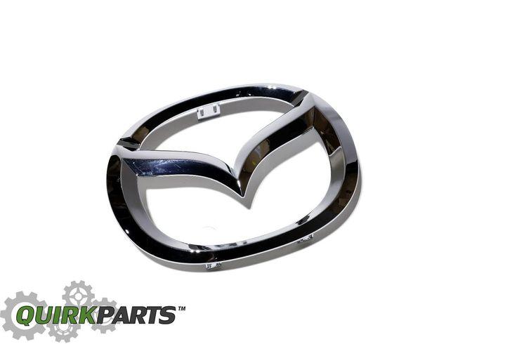 Nice Amazing Mazda 2 3 5 6 MazdaSpeed6 Front Grille Mazda Emblem OEM C235-51-731A OEM 2018