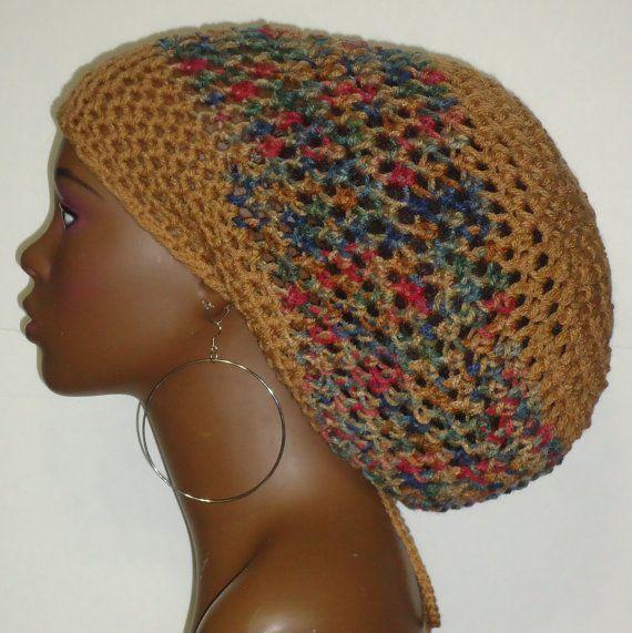 Autumn Jackson Rasta Tam Hat Cap with Drawstring by RazondaLee