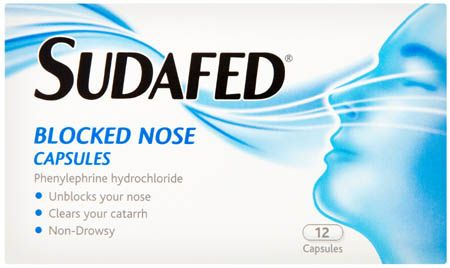 Sudafed Blocked Nose Capsules 12 Sudafed Blocked Nose Capsules 12: Express Chemist offer fast delivery and friendly, reliable service. Buy Sudafed Blocked Nose Capsules 12 online from Express Chemist today! (Barcode EAN=3574660593082 http://www.MightGet.com/january-2017-11/sudafed-blocked-nose-capsules-12.asp
