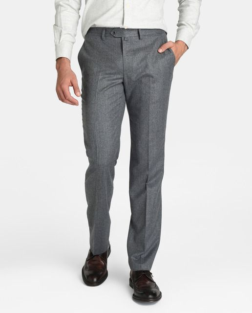 Pantalón de hombre Emidio Tucci de vestir gris