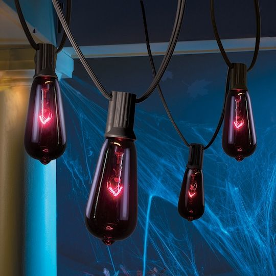 Buy the Purple Edison Bulb Lights By Ashland™ at Michaels