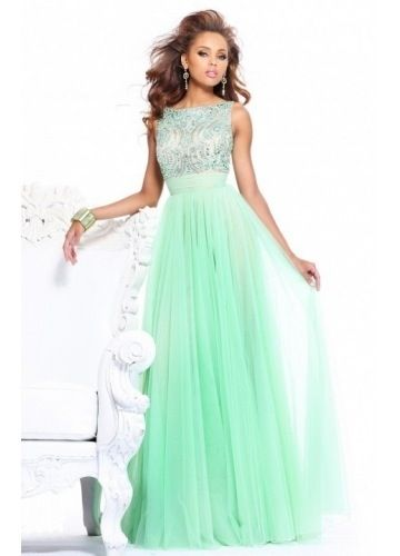 MINT GREEN HOMECOMING DRESS - Omenas Benen