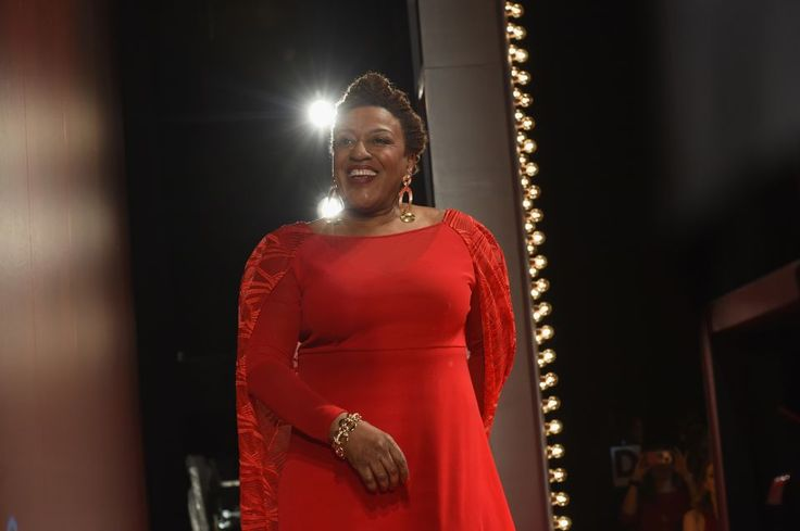 Actress C. C. H. Pounder was one of the celebrity models for the American Heart Association's Go Red For Women Red Dress Collection 2017 presented by Macy's at Fashion Week in New York City at Hammerstein Ballroom on February 9, 2017 in Manhattan. Pounder alked the runway in a gown by Bethany Meuleners, one of the designers taking part in a fashion incubator with Macy's.