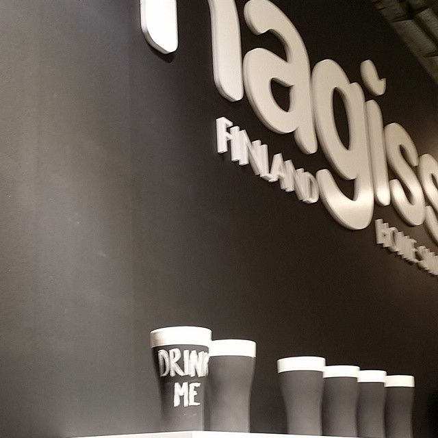 "New ""stay cool"" #beerglass from @magisso ….. and, yes @Service_Ideas will have it, too! #TabletopMatters #Ambiente #Ambientegram"