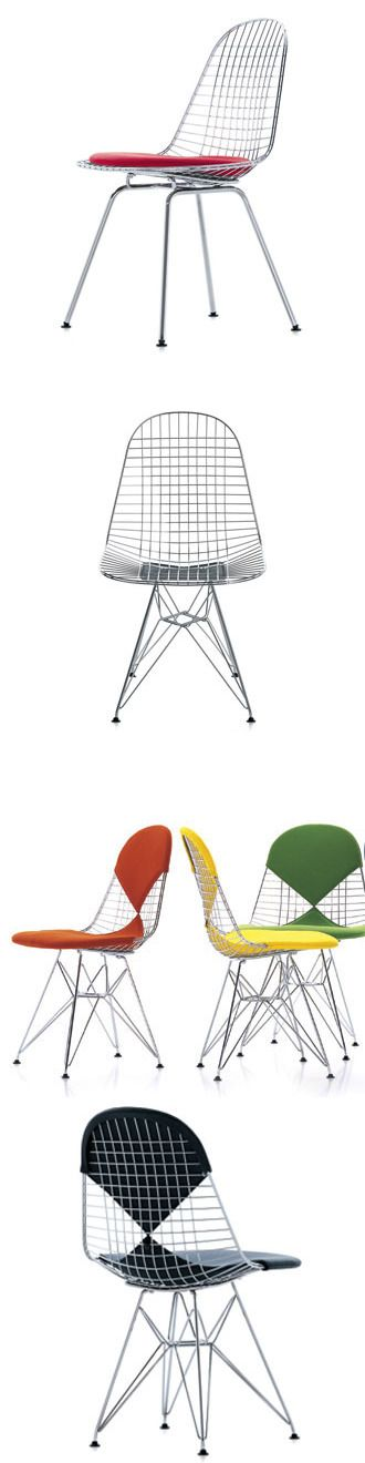 Charles and Ray Eames Wire Chair