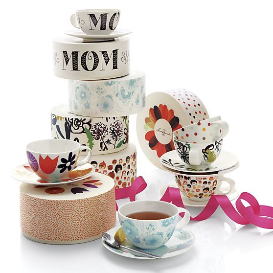 2014 Limited-Release Artist Teacups | Crate and Barrel