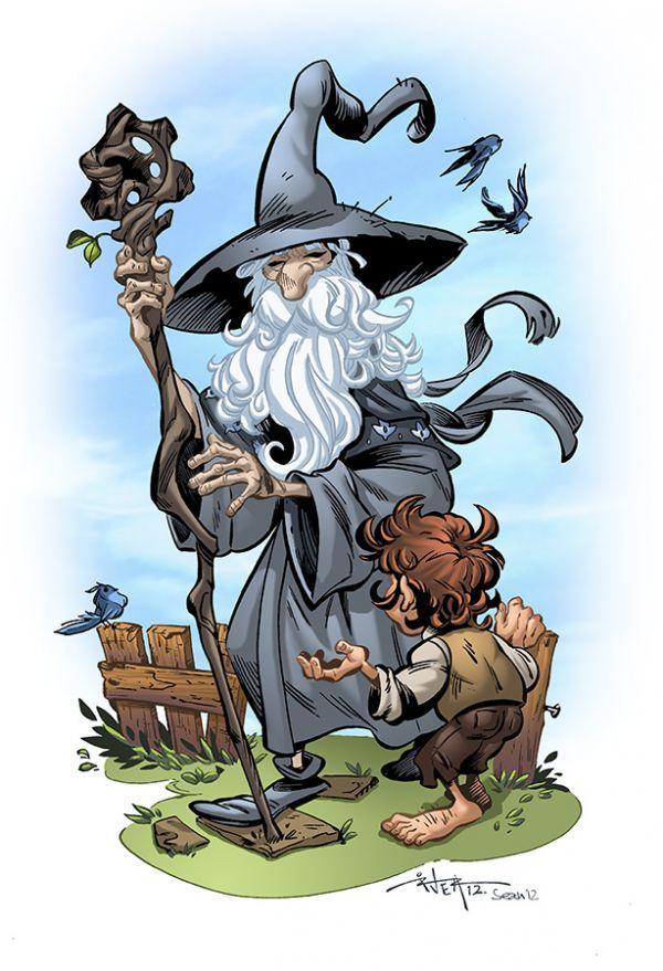 14 Fantastic Pieces of Art Based on The Hobbit - Neatorama