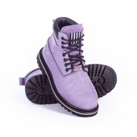 She Wear Safety Work Boots | Imperial Purple