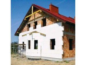 Утепляем каркасный  дом пенопластом