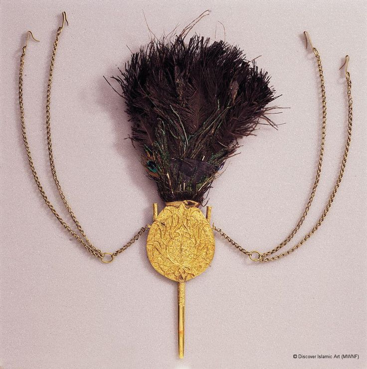 Museum With No Frontiers - A few aigrettes (plume holders/turban ornaments) from the 16th to 17th century