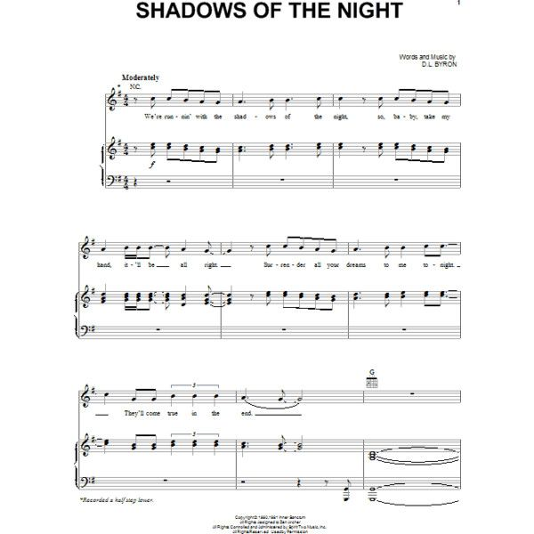 Shadows Of The Night Sheet Music Direct (€3,34) ❤ liked on Polyvore featuring music, backgrounds, text, phrase, quotes and saying