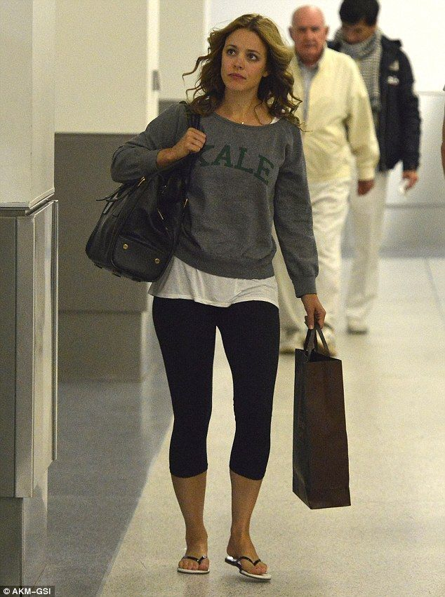 Rachel McAdams at LAX on December 18, 2013
