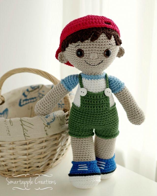 Tobias Boy Doll Amigurumi Pattern