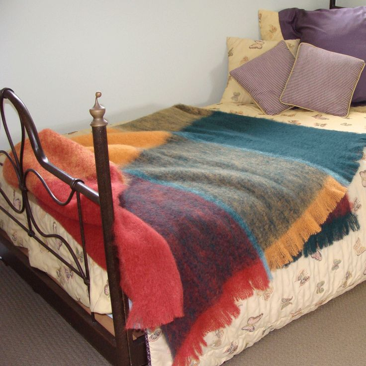 Plaid throw blankets in Autumn colors from Mohairs and More http://mohairsandmore.com/designer-check-throws-in-mohair/