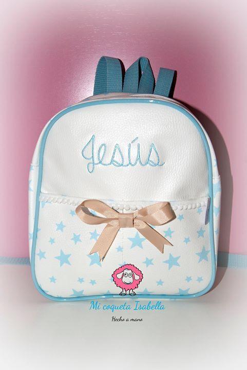#mochila para #colegio #guarderia #excursion o simplemente para pasear. Porque las mochilas de #micoquetaisabella son las más bonitas del mundo mundial #únicas #bordadas #personalizadas #hechaamano #handmade en #España. Elije la tuya del color que quieras las puntillas que más te gusten los lacitos que y donde prefieras. Los coquet@s #somosúnicos. #paramiloqueseaparamishijoslomejor. Encargarnos la vuestra por privado o por whatsapp al 619087303. http://ift.tt/2g5stU2 http://ift.tt/2zf9Fgf…