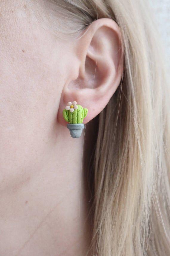 CHO v3 III Handmade Clay Earrings
