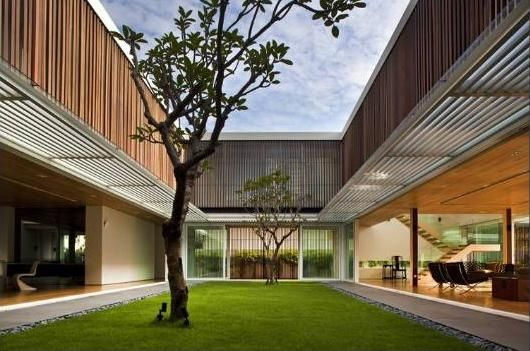 560 best images about home architecture minimalistic on for Minimalist house with courtyard