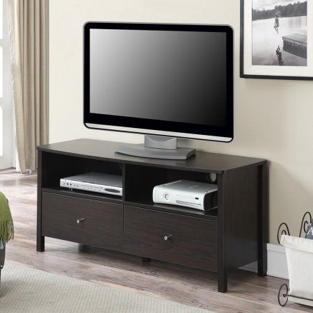 Convenience Concepts Designs2Go Westport TV Stand for TVs up to 46 inch, Brown