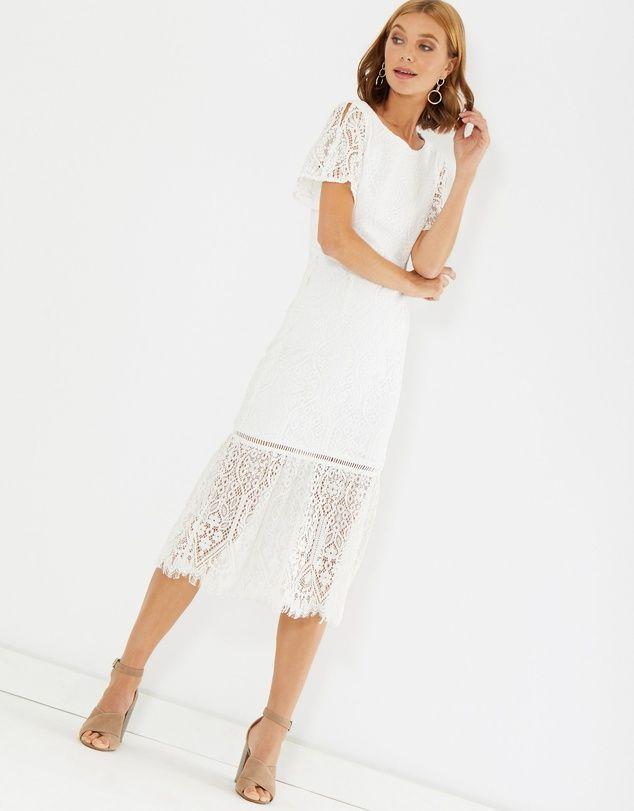 293a28a0171 Laken Dress in 2019   Elopement outfit ideas   Dresses, White dress ...